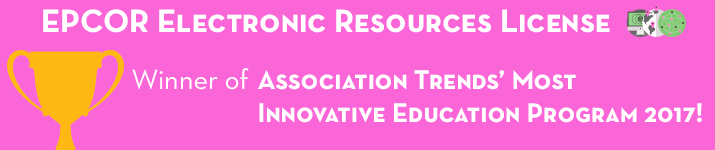 EPCOR Electronic Resources License ASAE's Most Innovative Education Program Award Winner