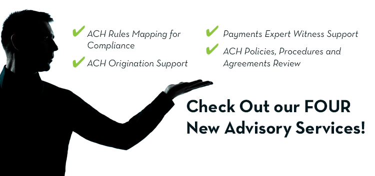 Check Out our FOUR New Advisory Services!